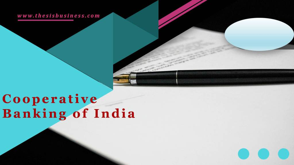 Cooperative Banking of India