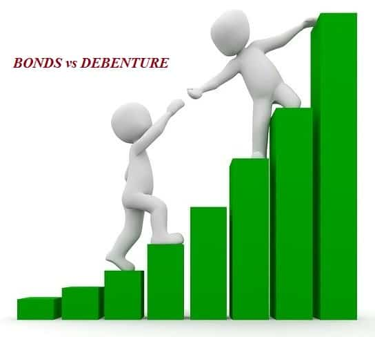 difference between bonds and debentures