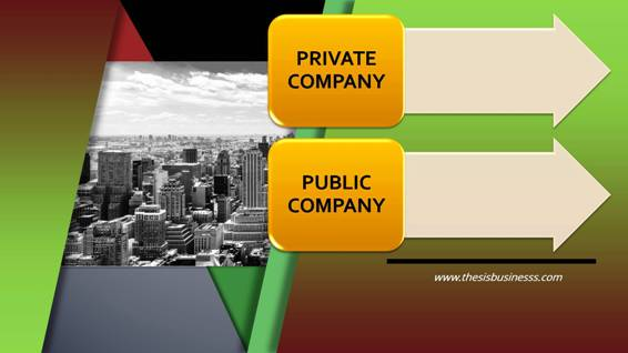 Difference between Private and Public Company