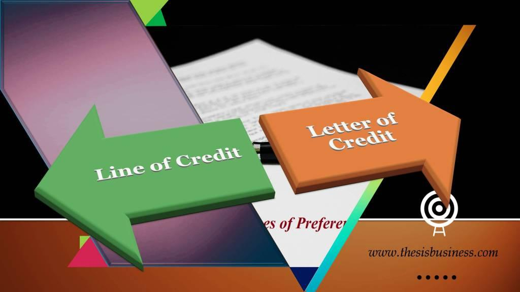 lines of credit vs letters of credit