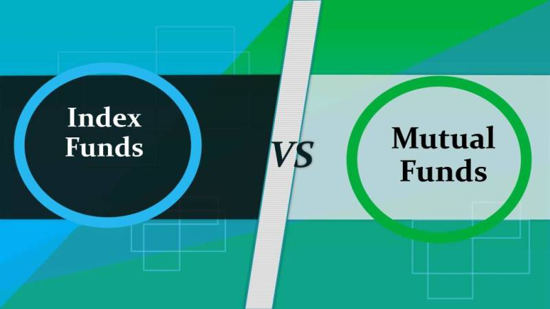 difference between index funds and mutual funds