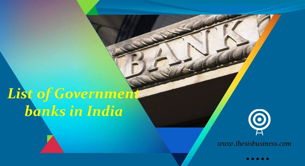 government banks in india